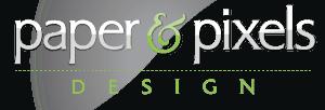 Paper & Pixels Design Logo